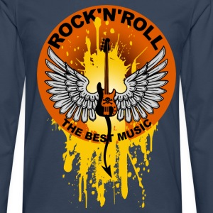 Rock 'n' Roll 01 T-Shirts - Men's Premium Longsleeve Shirt
