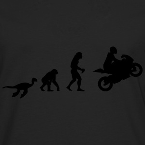 Evolution Motorrad Shirt for Girls - Männer Premium Langarmshirt