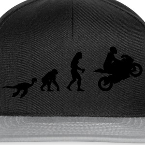 Evolution Motorcycle  T-Shirts - Snapback Cap