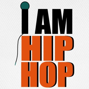 I Am Hip Hop T-Shirts - Baseballkappe