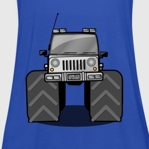 kids monstertruck Shirts - Women's Tank Top by Bella