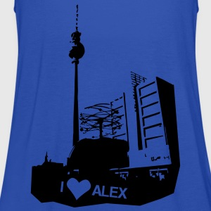 I LOVE Alex in Berlin Shirt - Frauen Tank Top von Bella