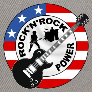 Rock 'n' Roll power Tee shirts - Casquette snapback