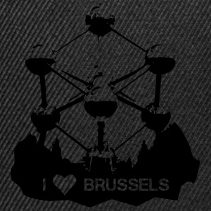 I LOVE Brussels Atomium  T-Shirts - Snapback Cap