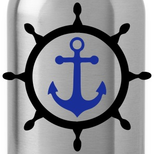 ancre marine 3 T-Shirts - Trinkflasche