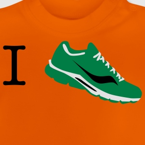 i love run sneaker T-Shirts - Baby T-Shirt