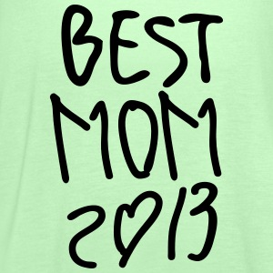 Best Mom 2013 Women's Plus size T-shirt - Women's Tank Top by Bella