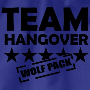 team hangover wolfpack T-Shirts - Turnbeutel