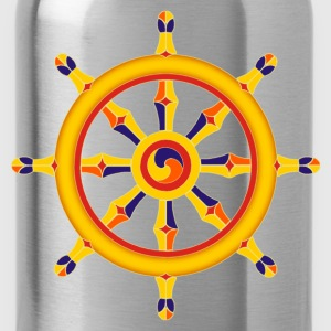 Wheel of Dharma T-Shirts - Water Bottle