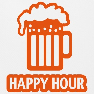 HAPPY HOUR - BEER DRINKING - GLAS  - PATRICK`S DAY T-Shirts - Men's Football shorts