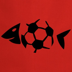 foot soccer arete poisson fish ballon Tee shirts - Tablier de cuisine