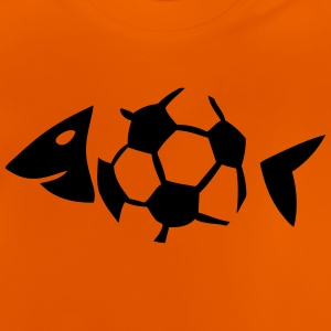 foot soccer arete poisson fish ballon Tee shirts - T-shirt Bébé