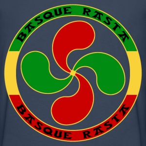 rasta basque cross T-Shirts - Men's Premium Longsleeve Shirt