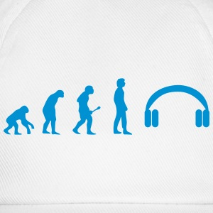 Headphones evolution T-skjorter - Baseballcap