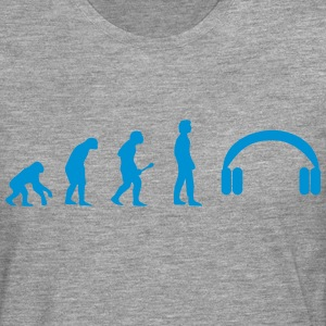 Headphones evolution T-Shirts - Men's Premium Longsleeve Shirt