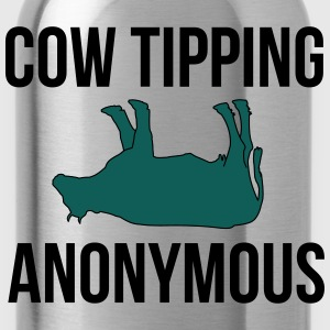 Cow Tipping Anonymous T-shirts - Vattenflaska