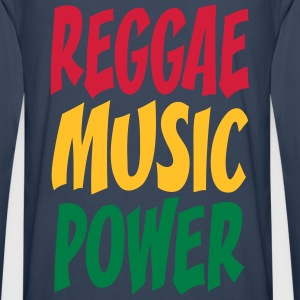 rasta music power T-Shirts - Men's Premium Longsleeve Shirt