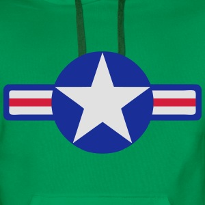 usa army T-Shirts - Men's Premium Hoodie