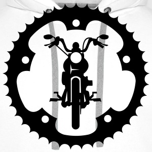 Chopper front chainring  T-Shirts - Men's Premium Hoodie