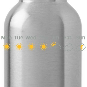 bad weekend weather T-Shirts - Water Bottle