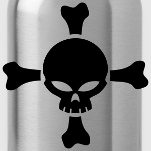 skull and bones vector T-Shirts - Water Bottle