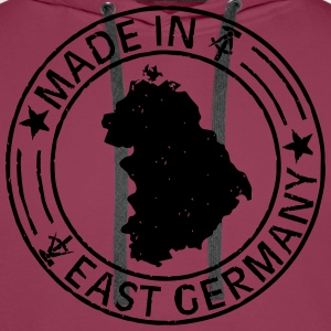 Made in East Germany Stempel Shirt for Girls - Männer Premium Hoodie