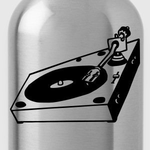 turntable dj - Water Bottle