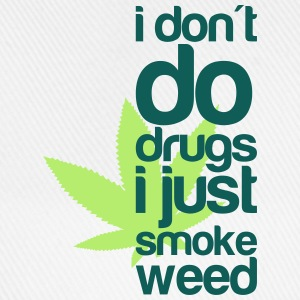 i do weed T-shirts - Basebollkeps