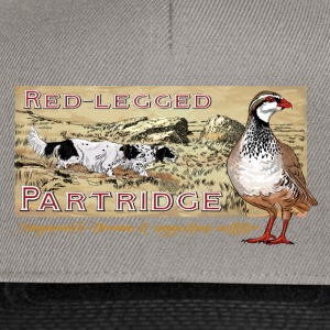 red_legged_patridge T-Shirts - Snapback Cap