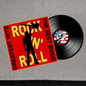 ROCK 'N' ROLL the best music Tee shirts - Casquette snapback