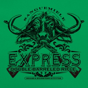 _express_rifle T-Shirts - Retro Tasche