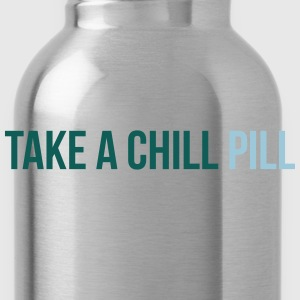 take a chill pill T-shirts - Vattenflaska
