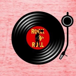 Rock 'n' Roll record player Tee shirts - Débardeur Femme marque Bella