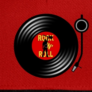 Rock 'n' Roll record player Tee shirts - Casquette snapback