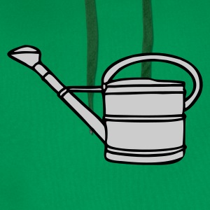 T-Shirt with watering can - Men's Premium Hoodie