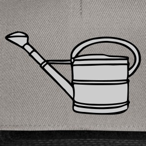 T-Shirt with watering can - Snapback Cap