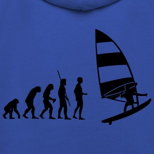 Evolution Windsurfer Shirt - Kinder Premium Hoodie