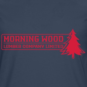 Morning Wood Lumber Company - Men's Premium Longsleeve Shirt