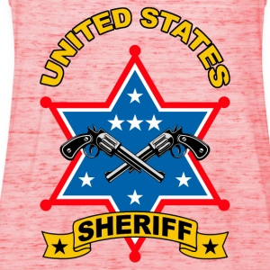 sheriff united states Tee shirts - Débardeur Femme marque Bella