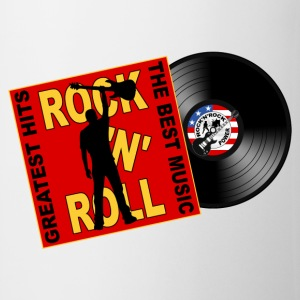 ROCK 'N' ROLL the best music T-Shirts - Mug
