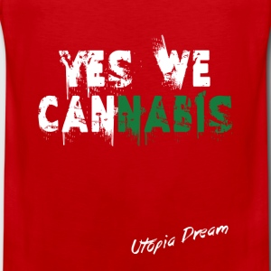 yes we cannabis (w).png Tee shirts - Débardeur Premium Homme