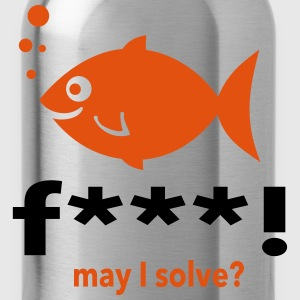 may i solve? T-Shirts - Water Bottle