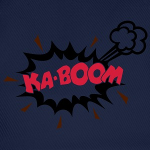 KABOOM, comic speech bubble, cartoon, word balloon - Baseball Cap