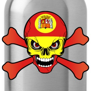 Spain Espagne skull T-Shirts - Water Bottle