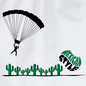Mexicaanse skydiver  T-shirts - Gymtas
