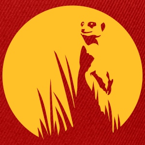 Meerkat in the grass sunset T-Shirts - Snapback Cap
