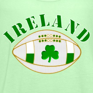 Ireland rugby clover bal Shirts - Women's Tank Top by Bella
