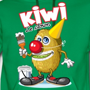 Kiwi le clown - Sweat-shirt à capuche Premium pour hommes
