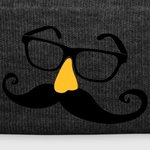 Mustache glasses with nose  T-Shirts - Winter Hat