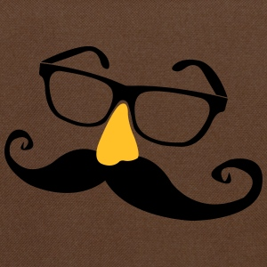 Mustache glasses with nose  T-Shirts - Shoulder Bag